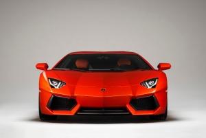 Lamborghini Aventador LP700 front view