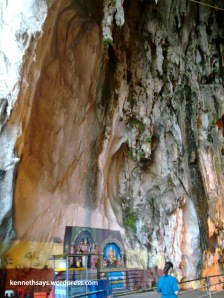 Entering Batu Caves