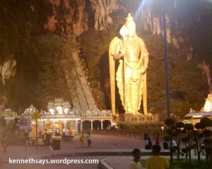 Batu Caves at dawn